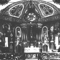 4-Kirche-St.-Michael-Suderwick-Innenansicht-vor-1945